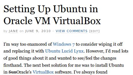 Setting Up Ubuntu in Oracle VM VirtualBox