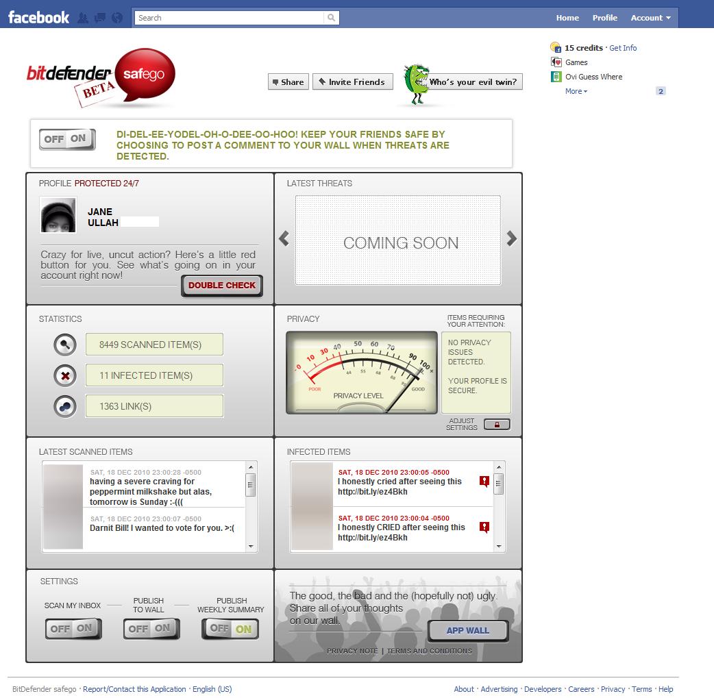 BitDefender Safego Detection