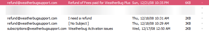 weatherbug-issues