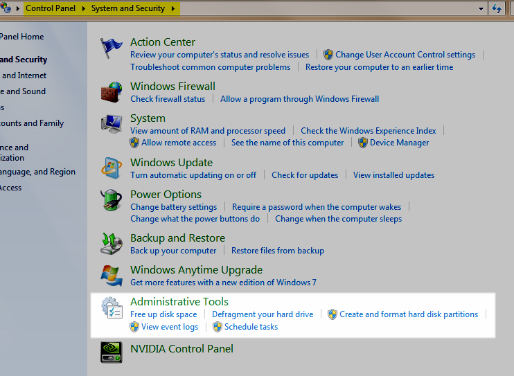 Windows 7 Tune Up Tools