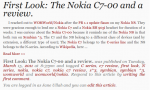 Solving One of the Nokia C7's pain points – Pricing