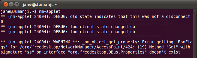 Network Manager applet crashes periodically in Ubunty 11.04 / Natty Narwhal